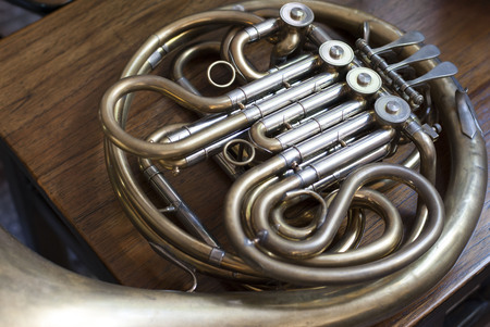 soloist: Old unlacquered French Horn