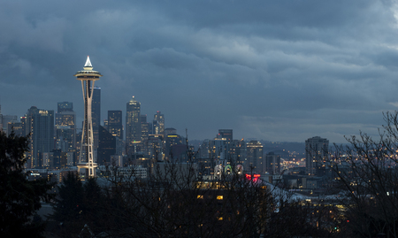 kerry: Space Needle from Kerry Park, Seattle, Washington