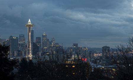 space needle: Space Needle from Kerry Park, Seattle, Washington