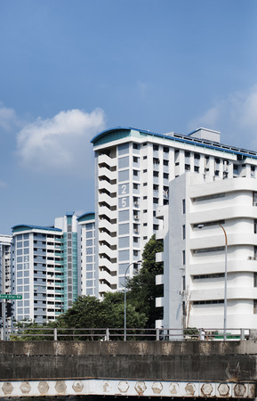 hdb: HDB flat, most common residence in Singapore Editorial
