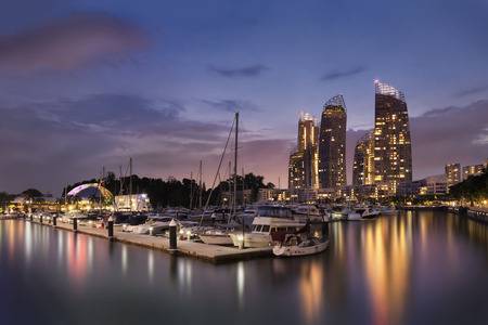 Luxury Condominium, Reflections at Keppel Bay, Harbourfront, Singapore Editorial