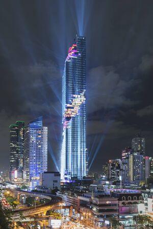Mahanakhon grand opening in Bangkok, Thailand Editorial