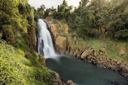 Haew Narok Waterfall, Khao Yai National Park, Thailand Stock Photo