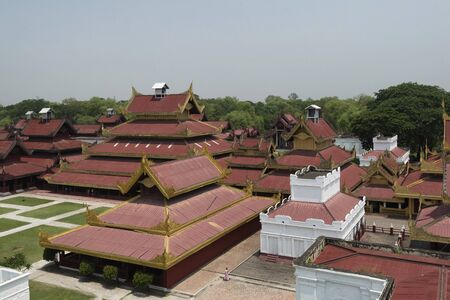colonization: Replica of Mandalay Palace is made for educational purpose for both locals and tourists about the last royal capital of Myanmar.