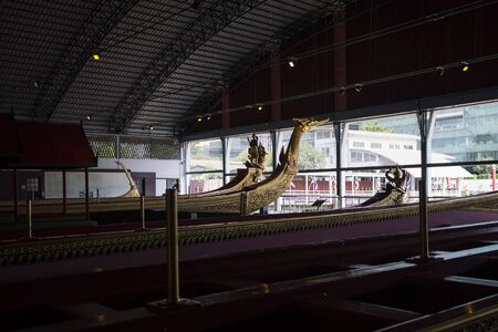 royals: The National Museum of Royal Barges is a museum in Bangkok, Thailand. Royal barges from the Royal Barge Procession are kept at the museum.