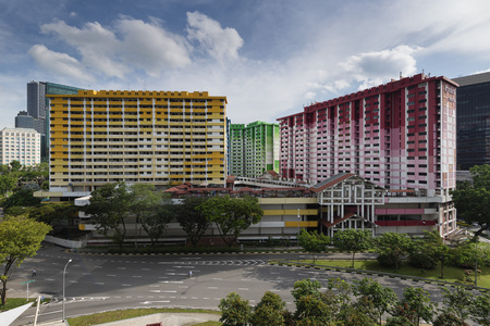 Rochor Centre is a group of buildings in Singapore built by the Housing and Development Board.