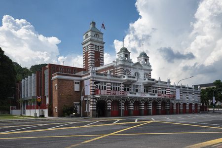 The Central Fire Station is the oldest existing fire station