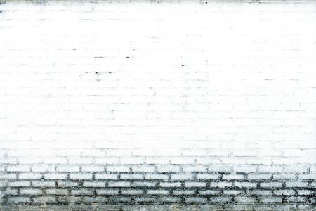 old brick wall: Brick white walls background. Old Wall.