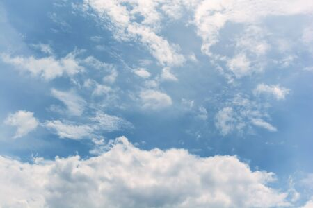 waft: Blurry cloud in the sky.   Beautiful nature Stock Photo