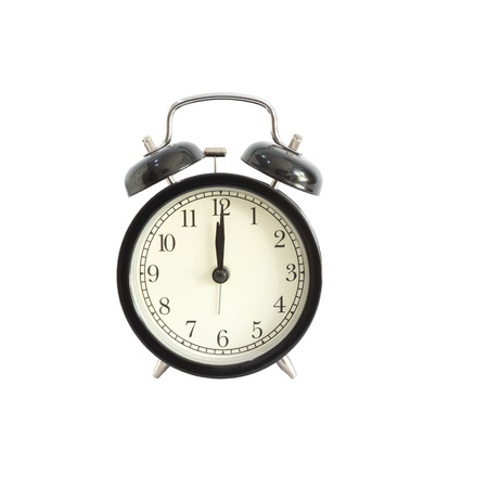 pm: Alarm clock setting at 12 AM or PM.  Abstract time.