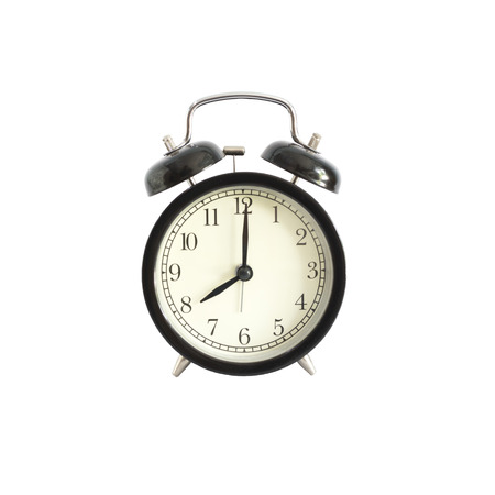 pm: Alarm clock setting at 8 AM or PM.  Abstract time.