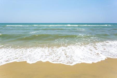 ocean waves: Ocean waves on the beach