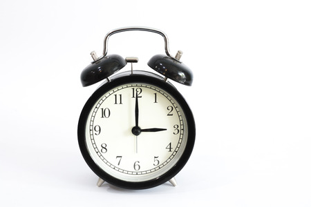 pm: Alarm clock setting at 3 AM or PM.  Abstract time. Stock Photo