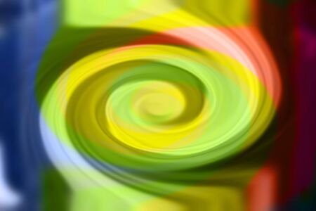 Abstract color background . Twirl with multicolor.