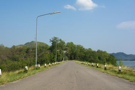 Kaeng Krachan National Park, Phetchaburi, Thailand The road and beautiful nature in the park Stock Photo