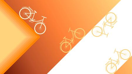Abstract orange colour background. Designed for Hobbies concept.