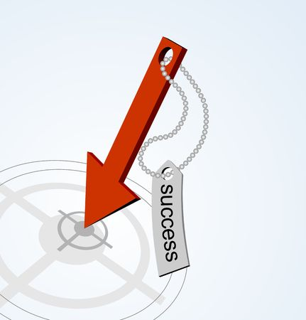 abstact: success in business. Vector abstact background .