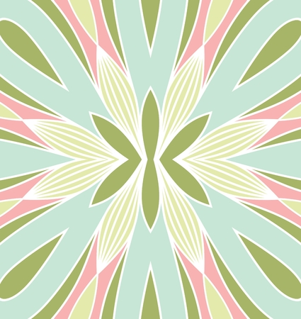tiling: symmetrical geometric seamless pattern. Design element for art.