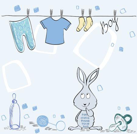 baby: vector Baby Frame Illustration
