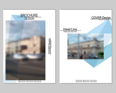 design: brochure cover design Illustration