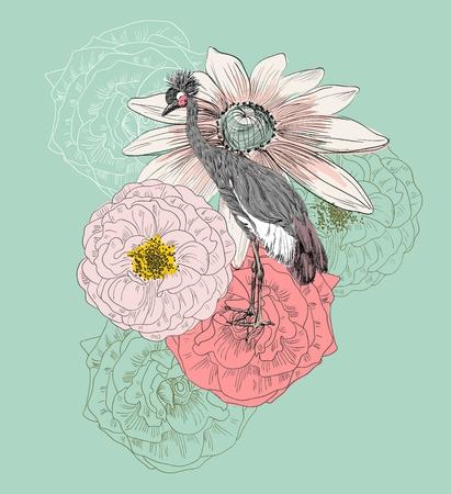 Shadoof. Vector illustration Illustration