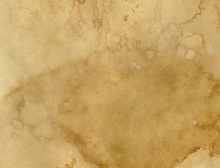 paper with coffee stains Stock Photo