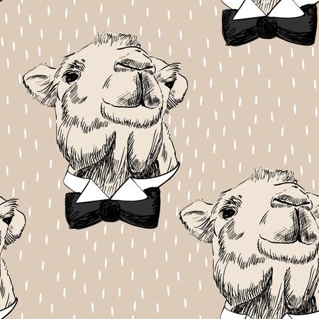 sketch of camel 版權商用圖片 - 87926643