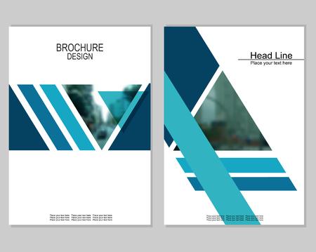 Conception brochure de couverture Banque d'images - 88360589
