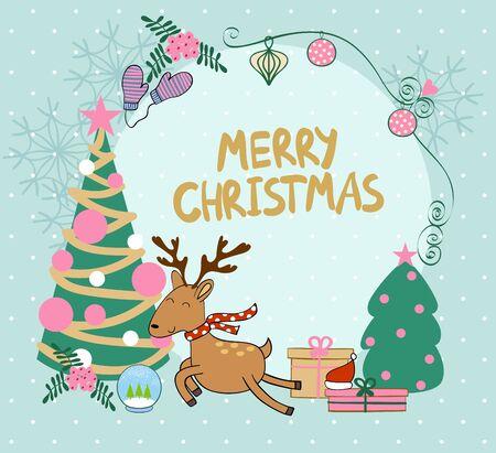 Joyeux Noël de vecteur Banque d'images - 90950394