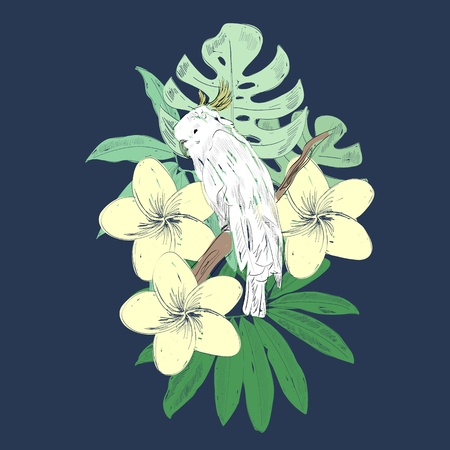 Tropical vector illustration