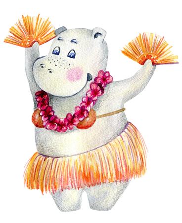 Hula Hawaii dance Stock Photo