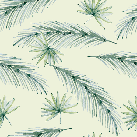 Tropical seamless pattern 스톡 콘텐츠