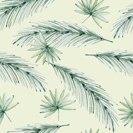 Tropical seamless pattern Stock Photo