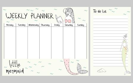 marine weekly planner