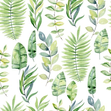 Tropical seamless pattern Zdjęcie Seryjne