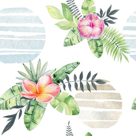 watercolor seamless pattern Imagens