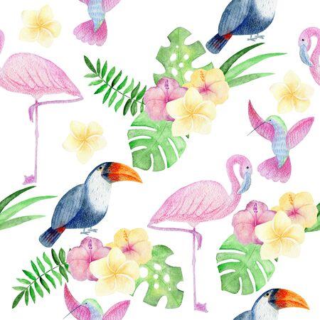 Tropical seamless pattern Reklamní fotografie