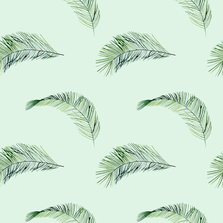 Tropical seamless pattern 版權商用圖片