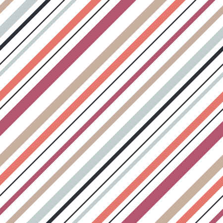 Shirt diagonal stripes seamless vector pattern.