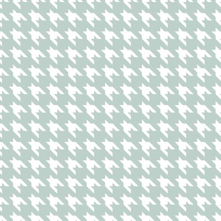 Hound stooth modello tessuto senza cuciture stampa blu e bianco. Stampa tessile costume classico.