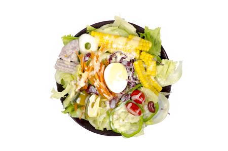 Gemüse auf Teller Standard-Bild