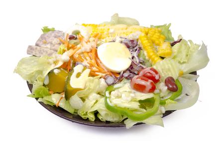 Gemüse auf Teller