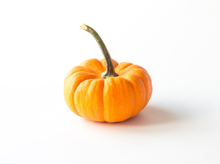 objects with clipping paths: Orange pumpkin