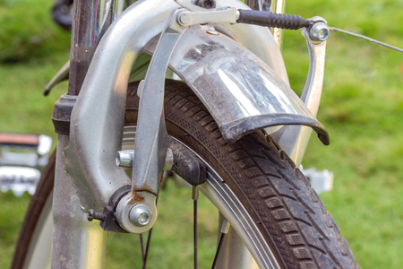pezones: Freno de la pinza delantera, bicyle