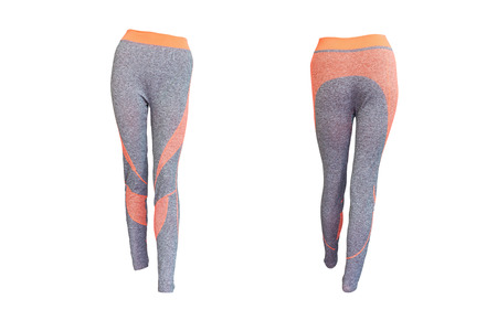 sports Pants for woman,isolated on white background with clipping path.