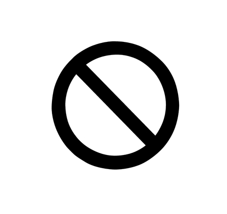 Signs prohibiting