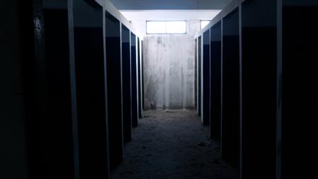 Les chambres du bâtiment abandonné sont superbes.