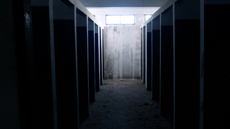 The rooms in the abandoned building look awesome.