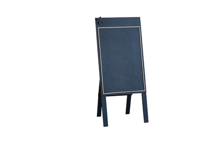 Storefront sign isolated on white background with clipping path. 写真素材