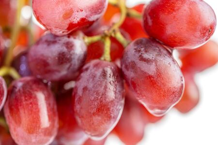 macro of grape fruit.The ripe grapes are suitable for curing wine. 写真素材